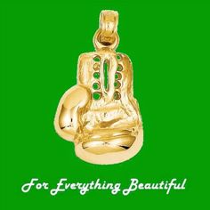 For Everything Genealogy - Boxing Glove Satin Finish 14K Yellow Gold Pendant Charm, $215.00 (http://foreverythinggenealogy.mybigcommerce.com/boxing-glove-satin-finish-14k-yellow-gold-pendant-charm/)
