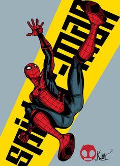 Spider-Man by Kendo Mejia