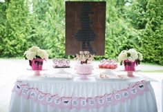 Project Nursery - Pony Birthday Party Dessert Table