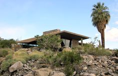 e. stewart williams architect / edris residence, palm springs