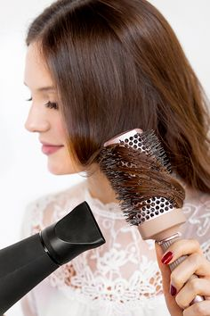 The Square Thermal Brush by Fromm has a unique shape that allows for one stop blow dry styling to achieve three different looks: straighten, create loose waves, or form tight curls. Caring For Colored Hair, Barbie Hairstyle, Hair Straightening Iron, Hair Essentials, Tight Curls, Hair Shampoo, Everyday Hairstyles, Styling Tools, Hair Tools