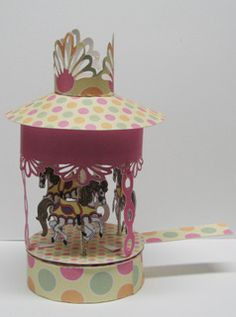 Paper Pulse Blog Spot: Finished Carousel that Moves