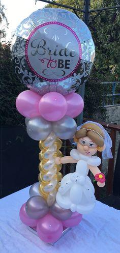 Wedding Ballons, Diy Ideas, Decor Ideas, Balloon Decorations, Bridal Shower, Birthday Cake, Holidays, Projects, Giant Balloons