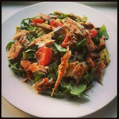 Stephen shared this picture of his Peppered Smoked Mackerel Salad with us over the weekend! Smoked Mackerel Salad, Weekend Is Over, Superfoods, Japchae, Competition, Salads, Ethnic Recipes, Summer, Summer Time