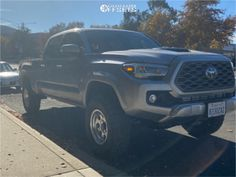 2020 Toyota Tacoma 16x8 -12mm Pacer Lt