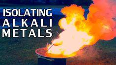 Experiments For Isolating Alkali Metals | Sodium & Potassium - [Part 1]