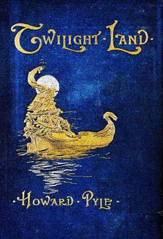 For the love of Books...Twilight Land by Howard Pyle, 1896.