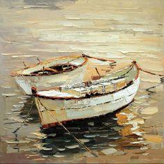 cuadros modernos, marinas, barcas y veleros, cuadros