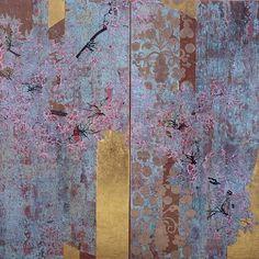 """""""Sakura Suzani"""" by Robert Kushner"""