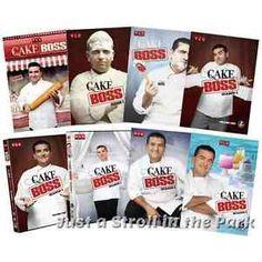 Cake Boss: Buddy Valastro TV Series Complete Seasons 1 2 3 4 5 6 Box/DVD Set(s)