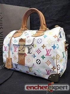SAC A MAIN LOUIS VUITTON SPEEDY 30 TOILE MONOGRAM MULTICOLORE HAND BAG  2030€ Sac A 0a939462a4e