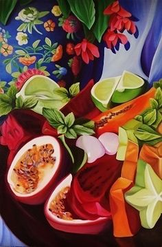 """""""Delighting the Senses"""" by Louise Taylor. Paintings for Sale. Bluethumb - Online Art Gallery"""