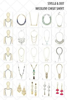 Shop Stella & Dot for jewelry, bags, accessories, and clothing for trendy women. Stella & Dot is unique in that each of our styles are powered by women for women. Shop Stella & Dot online or in stores, or become a independent ambassador and join our team! Fashion Terms, Fashion Mode, Fashion Advice, Stella Dot, Necklace For Neckline, Necklace Guide, Lariat Necklace, Fashion Dictionary, Fashion Vocabulary
