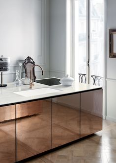 The renewed collection of Corian® sinks