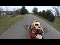 Guy Hooks a Chevy Big Block up to a Lawn Mower Lawn Mower Trailer, Grass Mower, Wheel Horse Tractor, Lawn Mower Repair, Battery Tools, Home Landscaping, Driving Test, Cool Gadgets, Lawn And Garden