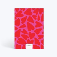 Plain Notebook, A5 Notebook, Lined Notebook, Notebook Design, Dotted Page, Planning Your Day, Getting Organized, Red And Pink