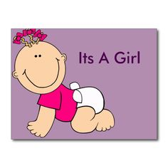 Its A Girl Homemade Cards, Charlie Brown, Winnie The Pooh, Peanuts Comics, Disney Characters, Fictional Characters, Purple, Art, Art Background