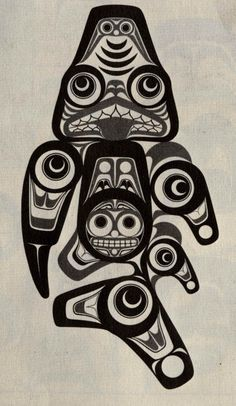 Tlingit art lines and forms!