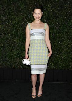 Pin for Later: We're as Addicted to Emilia Clarke's Off-Screen Style as We Are Her Onscreen Antics March 2014