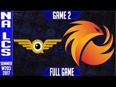FlyQuest vs Phoenix1 Game 2 | NA LCS Week 2 Day 3 Summer Split 2017 | FLY vs P1 G2