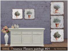 Severinka_'s Provence paintings Flowers 01