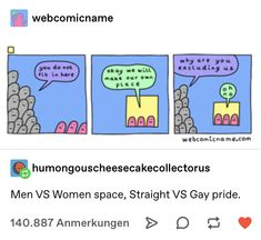 straight pride parades be like Patriarchy, Faith In Humanity, Social Issues, Social Justice, Equality, Just In Case, Funny Memes, Thoughts, Feelings