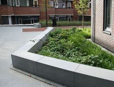 Landscape design by Vollmer & Partners for the surroundings of the townhall in Zeist