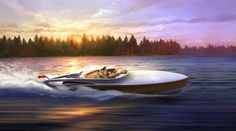 New Aeroboat Superyacht Tender unveiled by Claydon Reeves