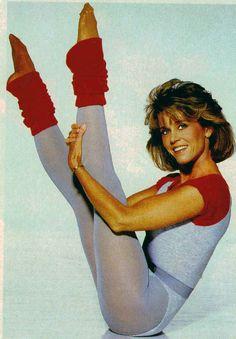 A moda da ginástica da Jane Fonda (vendendo a perfeição enquanto era bulímica, e todo mundo caiu nessa!)