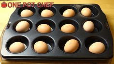 NEW VIDEO: Quick Tips: Making Hard Boiled Eggs (In The Oven) Watch the video here: http://youtu.be/tKRXt5bhVXg