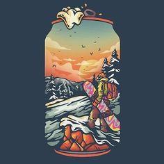 'Drink Holidays by juanxserra Graphic Design Illustration, Art And Illustration, Pop Art Wallpaper, Beer Art, Game Character Design, Diy Canvas Art, Art Pop, Art Sketchbook, Art Inspo