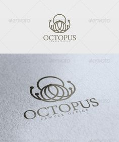 Octopus  Logo Design Template Vector #logotype Download it here: http://graphicriver.net/item/octopus-logo/2304297?s_rank=373?ref=nexion
