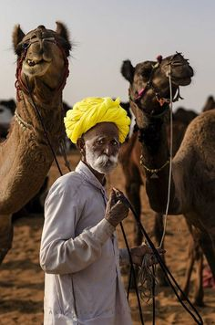 The Man With His Camels (explored) By Akilselvan Photography, Via Flickr