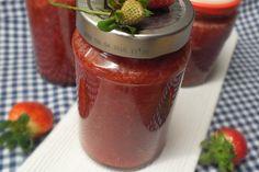 Erdbeermarmelade mit Vanille