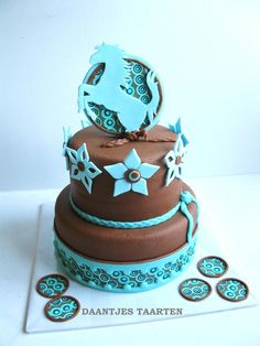 *Horse cake - I could make this a unicorn cake with more fantasy and colors