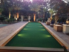 Exterior Ideas Bocce Ball Court Bocce Court Construction Indiana Let's Set Up A Bocce Ball Court Ball. Backyard Games, Backyard Patio, Backyard Landscaping, Backyard Ideas, Backyard Sports, Backyard Playground, Landscaping Ideas, Illinois, Backyard Putting Green