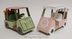 golf cart gift card holder