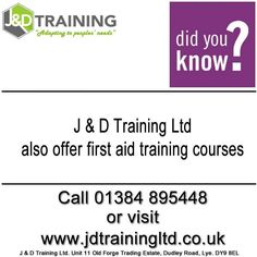 Did you know we also offer first aid training? at http://ift.tt/1HvuLik #firstaid #safety #healthandsafety