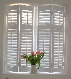 amazing pretty design ideas indoor shutters for windows decor curtains within indoor shutter blinds, bifold interior window shutters. Interior Window Shutters, Interior Windows, Indoor Shutters For Windows, Kitchen Shutters, Wooden Shutters Indoor, Windows Decor, White Shutters, Kitchen Blinds, Shades For Windows