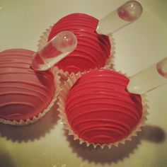 """Cake Ball """"Shots""""-contain real alcohol"""
