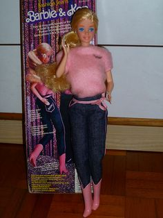 Fashion Jeans Barbie 1981.  -My first Barbie back in the 80s. :)