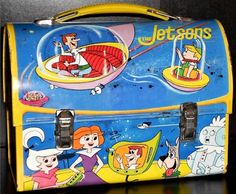 1963 The Jetsons Lunch Box (front)