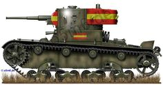 Engines of the Red Army in WW2 - Russian Tanks in the Spanish Civil War