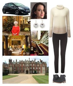 """Arriving at Sandringham House, Sandringham, PE35 6EN"" by new-generation-1999 ❤ liked on Polyvore featuring Peugeot and Pure Collection"