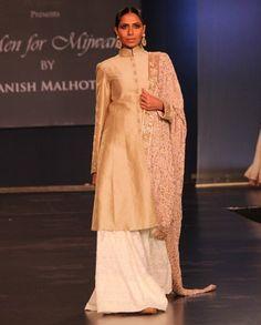 Manish Malhotra. Men for Mijwan. PCJ 14'. Indian Couture. https://www.facebook.com/nikhaarfashions