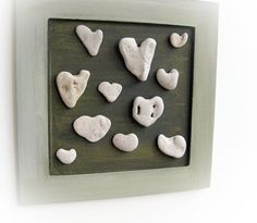 I guess you have to go to the shores of the Mediteranean sea in Israel for heart-shaped stones.