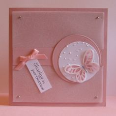 Sympathy Card made with the Watercolour Wings stamp set.