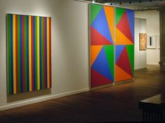 """""""Guido Molinari and Colour: Paintings 2008 Installation view / photo Galerie Simon Blais Words On Canvas, Pure Fun, Abstract Painters, Canadian Artists, Magazine Art, Abstract Expressionism, Home Art, Illustration, Modern Art"""