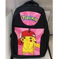26 Various Anime Pokemon Laptop Backpacks - Check them out! Anime Pokemon, Pokemon Go, Pikachu Pikachu, Kids Backpacks, School Backpacks, Black Backpack, Backpack Bags, Bags Game, Computer Backpack