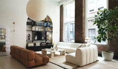 Soho Loft, Elsa Hosk, Soho Apartment, Apartment Design, Warehouse Apartment, Casa Loft, Loft House, Dream Home Design, Home Interior Design